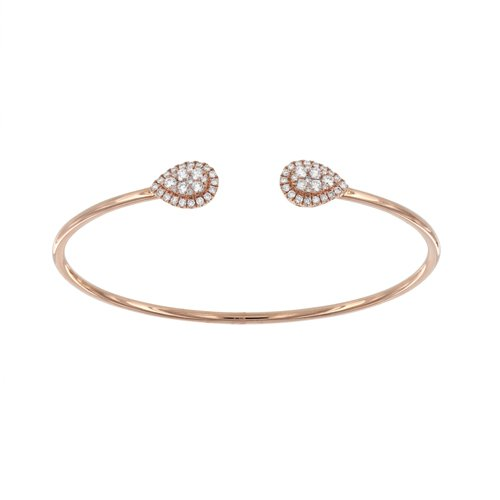 STELLAROSA 18K Gold Bracelet with VS-VVS Diamonds