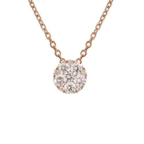STELLAROSA 18K Gold Necklace with VS-VVS Diamonds